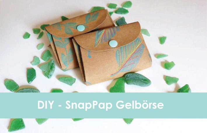 Kostenloses Schnittmuster für eine SnapPap-Geldbörse von Emmy Lou
