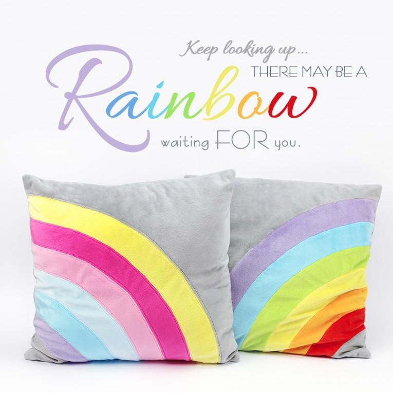 Regenbogen nähen mit Schnittmuster und Nähanleitung von kullaloo