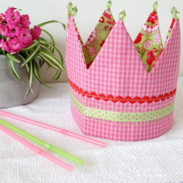 Schnittmuster Geburtstagskrone