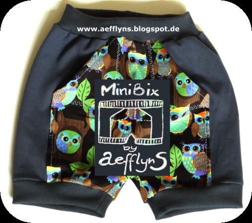 """Kostenloses Schnittmuster für die kurze Hose """"MiniBix"""" (Gr. 68-134)  von aefflynS"""