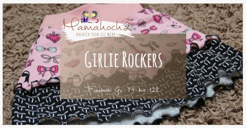 """Schnittmuster Rock """"Girlie Rockers""""."""