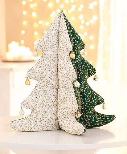 Schnittmuster Weihnachtsbaum aus Patchworkstoff von Buttinette – 100% kostenlos