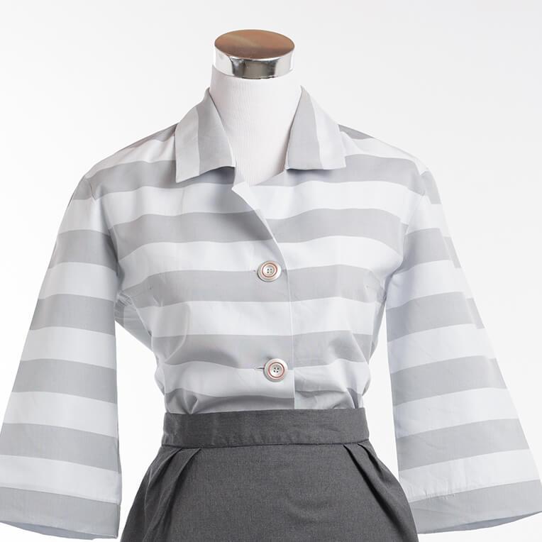 Kostenloses Schnittmuster für Bluse fürs Büro (Größe 38) von sisterMAG