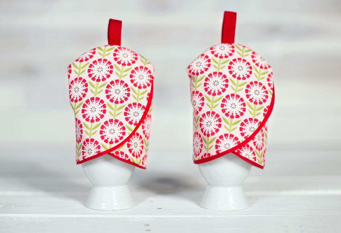 Eierwärmer im Tulpendesign nähen von Pattydoo mit gratis Schnittmuster
