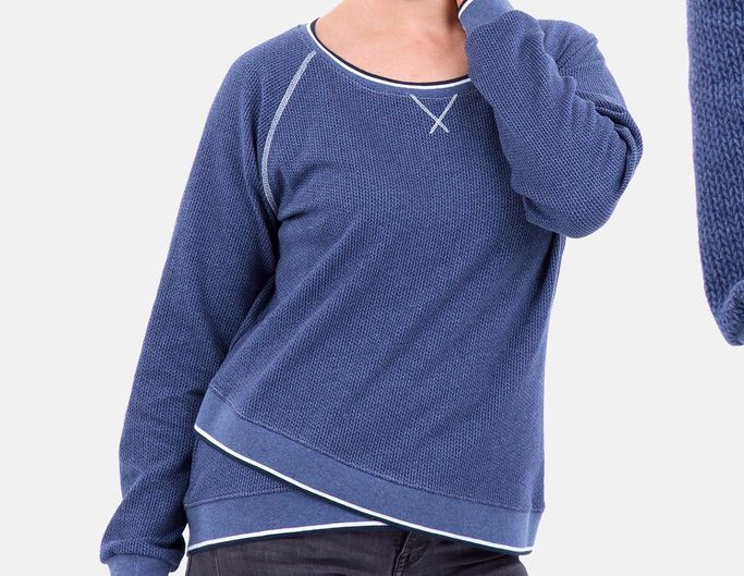 """Schnittmuster für Raglan-Shirt """"Amy"""" (Gr. 32-54) von Pattydoo – Kostenlos mit Newsletter-Anmeldung"""