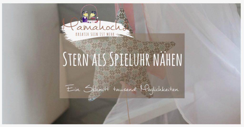 Sternkissen von Mamahoch2 nähen