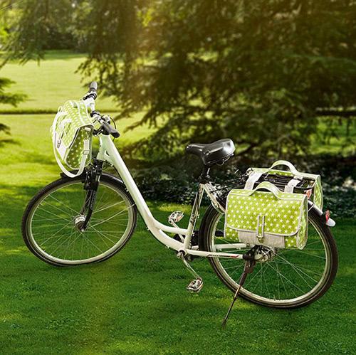 Set für Fahrradtaschen mit Nähanleitung von Buttinette nähen