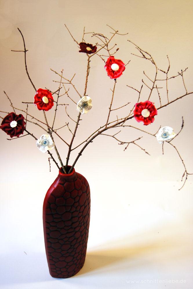 Nähanleitung Frühlingsblüten von Schnittenliebe