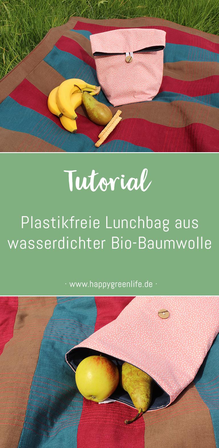 Schnittmuster Lunchbag von Kreativlabor Berlin – 100% kostenlos