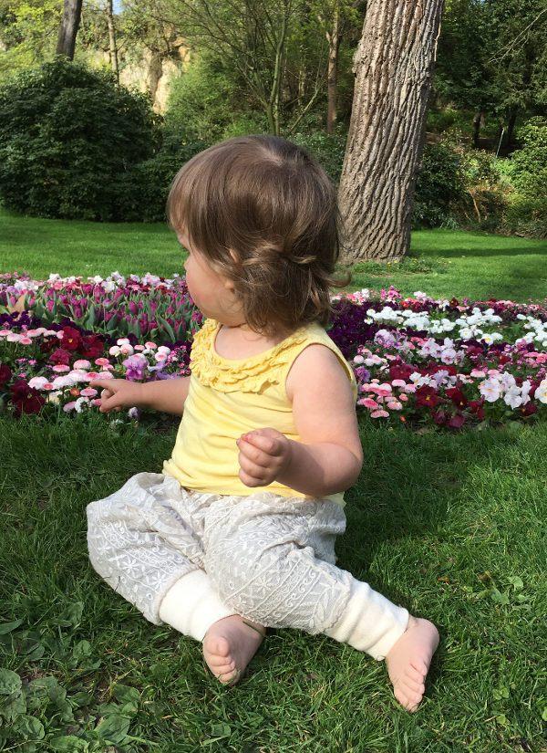 Pumphose für Babys nähen mit Nähanleitung von K-Nähleon