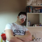 Gratis Schnittmuster Schlafmaske von Dots Designs
