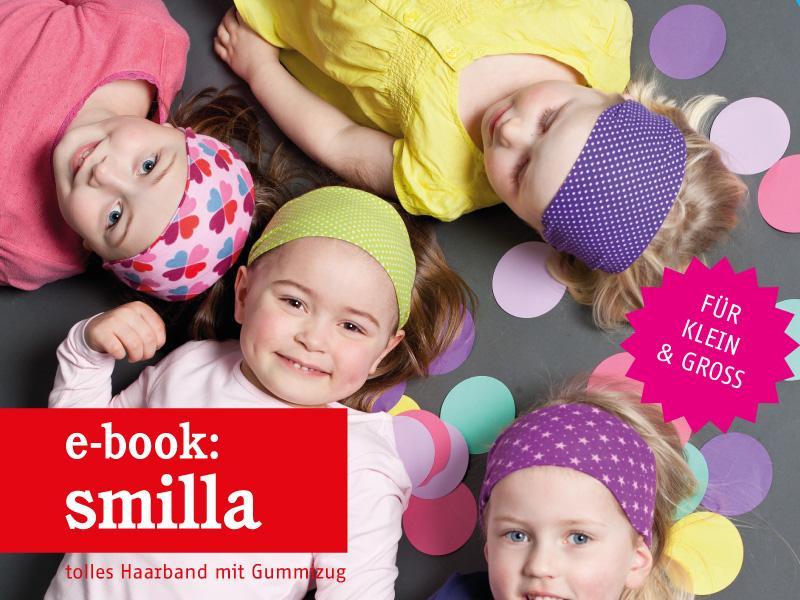 Gratis Schnittmuster Haarband SMILLA (Gr. Kinder, Teens & Damen) von STUDIO SCHNITTREIF