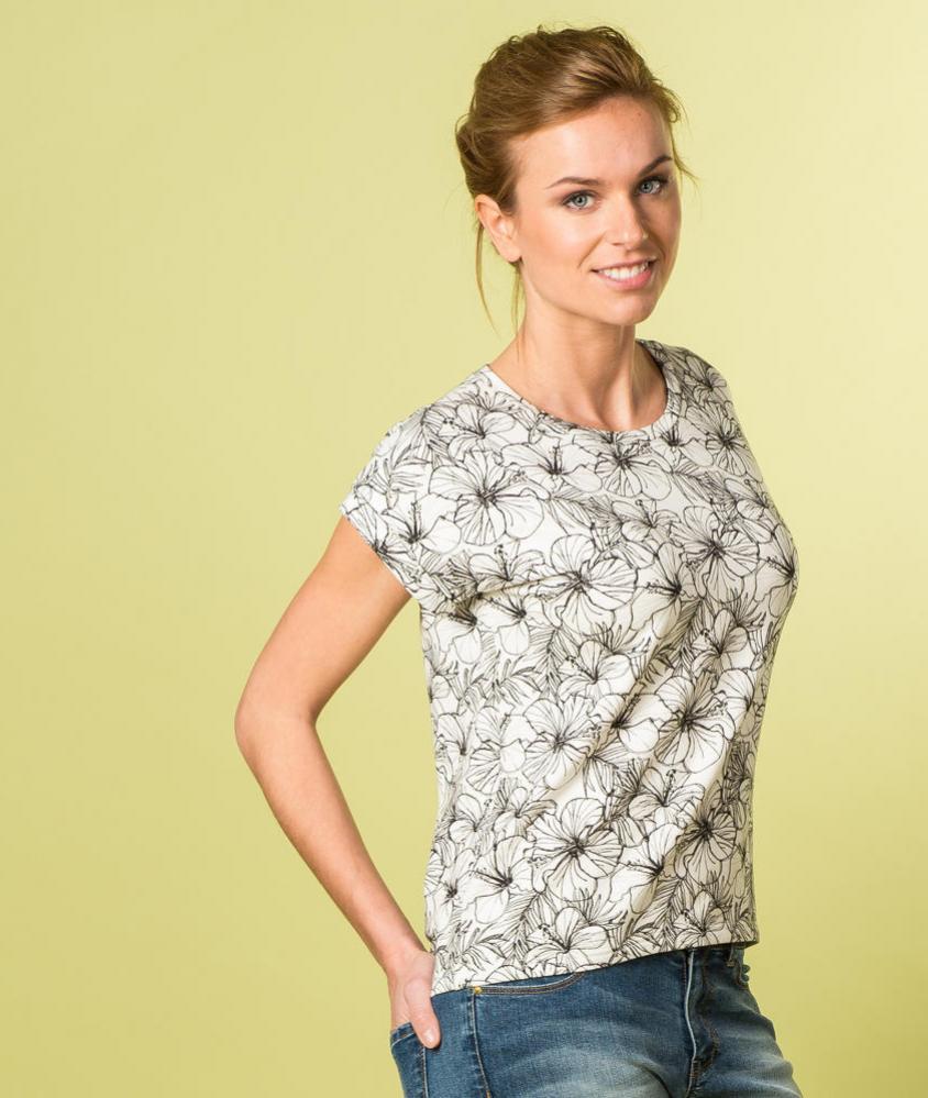 """Gratis Schnittmuster T-Shirt """"Odette"""" (Gr. 30-48) von La Maison Victor"""