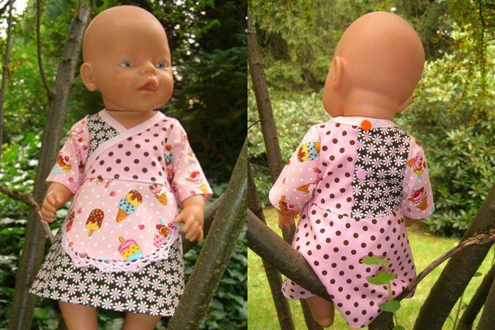 Schnittmuster Tunika Kleid für Puppen (Gr. 38, 43, 48 & 53) – Kostenlos von Mamu Design