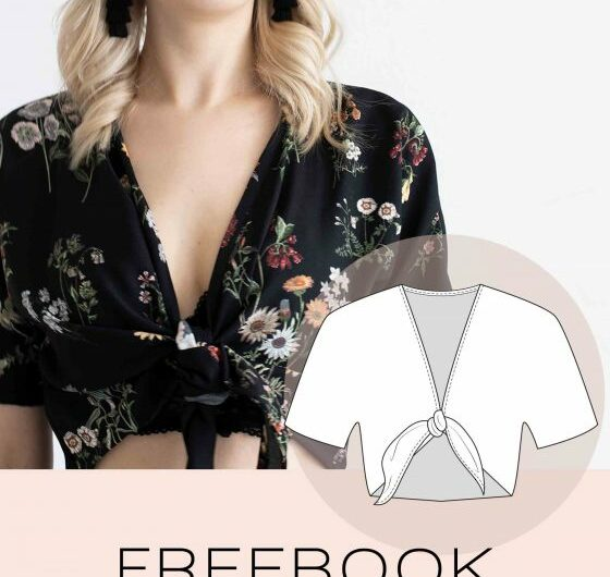 Kostenloses Schnittmuster für Shirt 'Libra' (Gr. 34-46) von Nude-collective