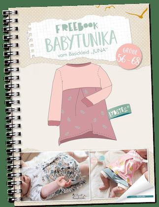Tunika für Babys nähen mit Schnittmuster