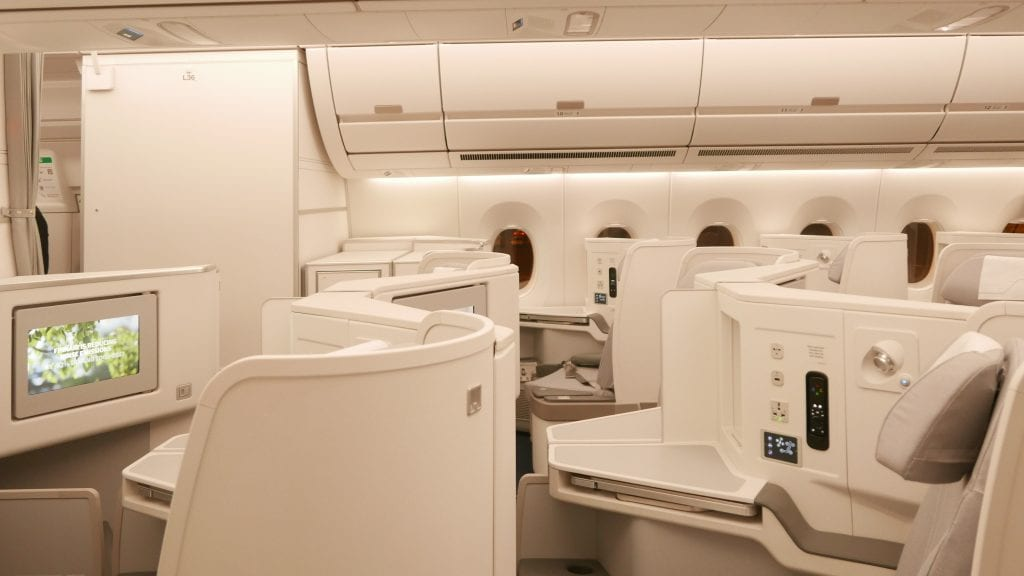 If stormtroopers designed business class cabins...