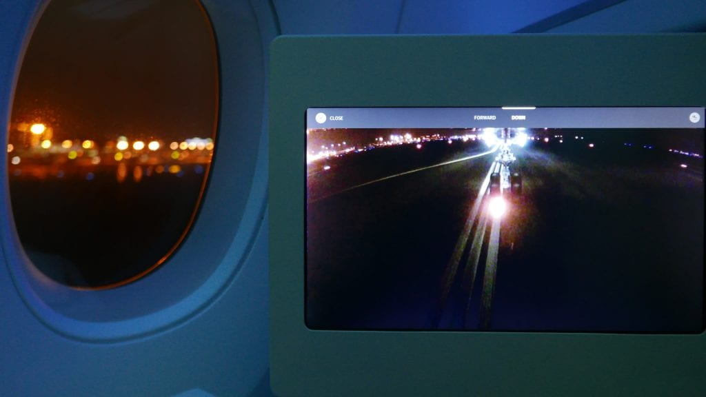 All too soon I watched the plane touch down via the wheel cam, which if anything is even cooler than the tail cam