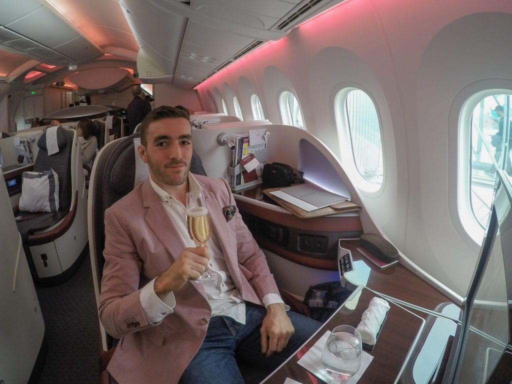 REVIEW - Qatar Airways B787 - Dreamliner - Business Class - Jarvis Marcos