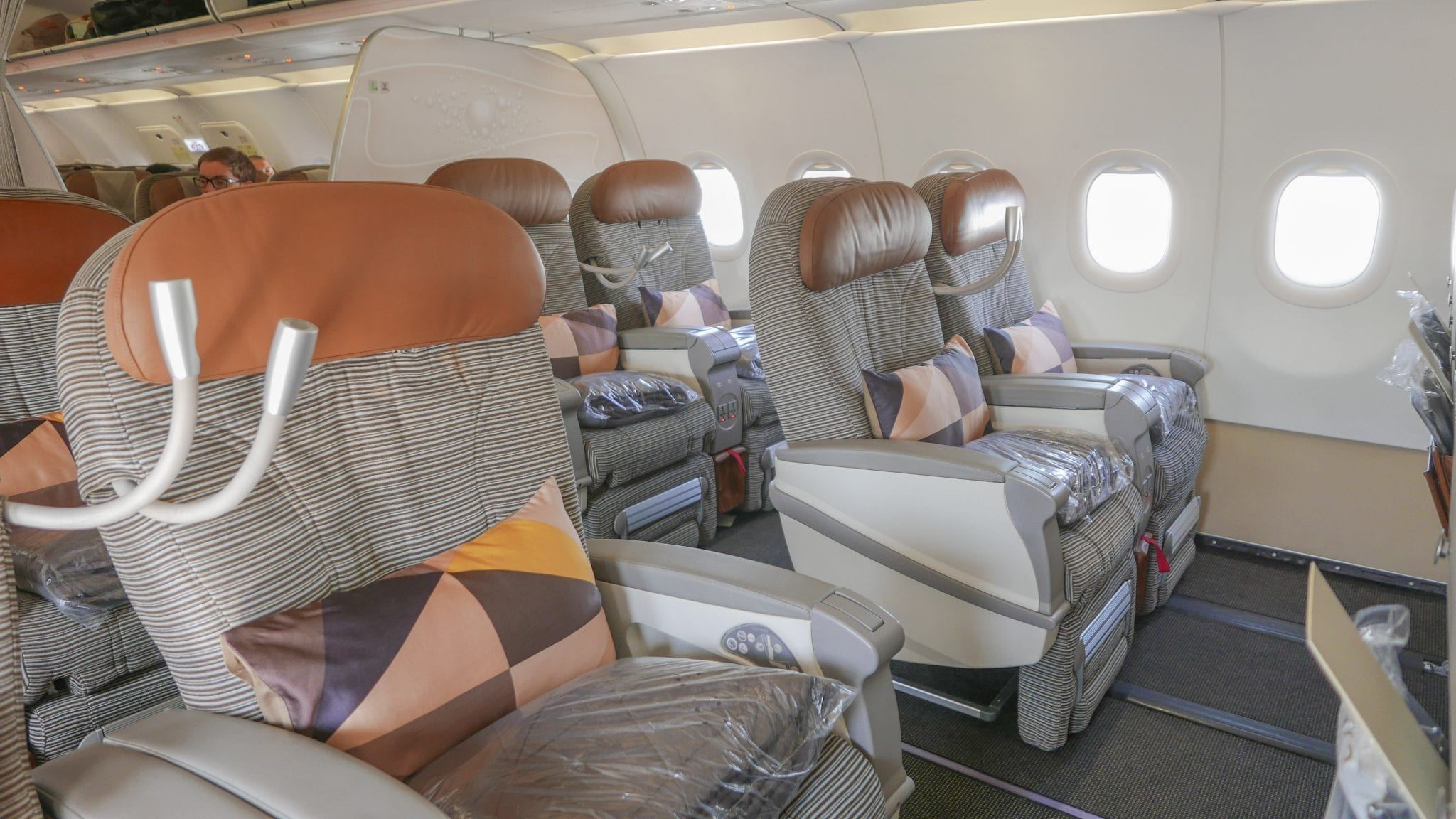 Etihad business class EY regional Jarvis Marcos