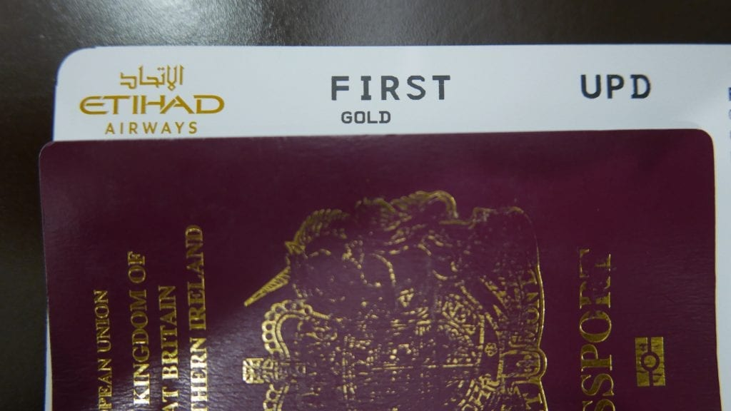 Boarding Pass (EY A380 Etihad Apartments - Jarvis Marcos)