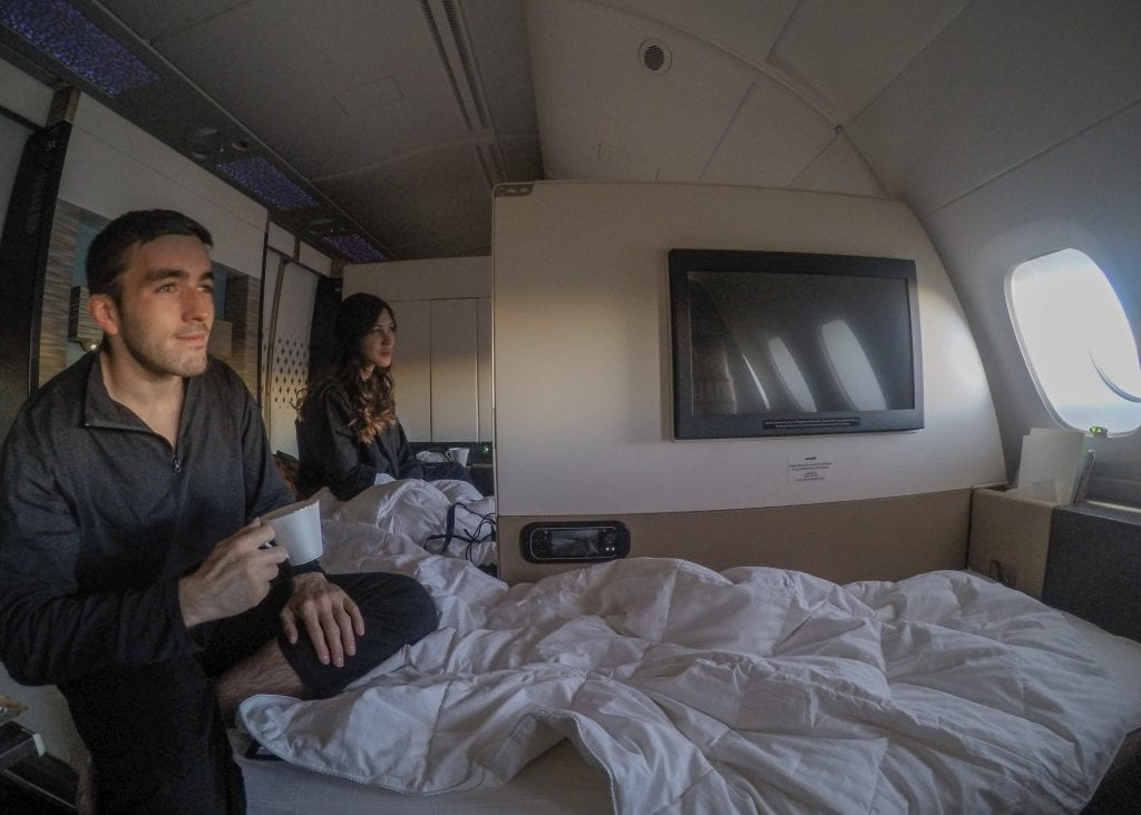 (EY A380 Etihad First Class Apartments Bed - Jarvis Marcos)