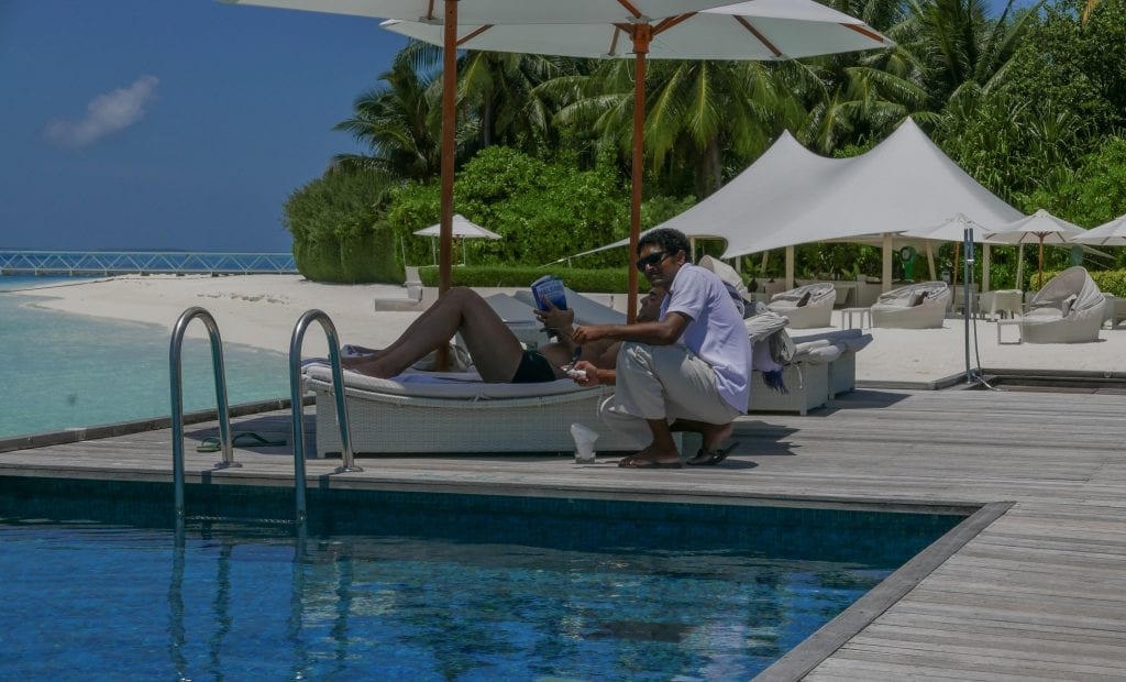 Conrad Maldives Rangali - Review Quiet Zone Bar - Jarvis Marcos