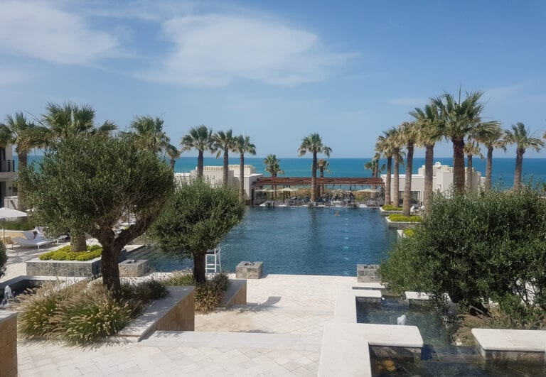 four seasons tunis pool