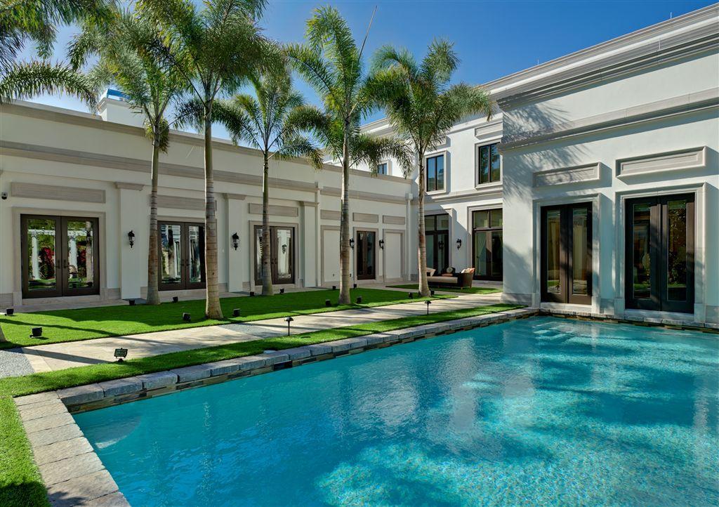 The New American Home Pool_full