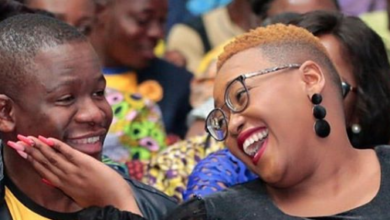 Photo of Pic! Ntonkozo Mbatha Crushing On Her Hubby Nqobile Is The Cutest Thing