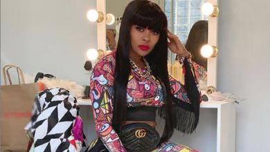 Photo of Pics! Thembi Seete's Sexy Look While Performing On Stage Is Goals