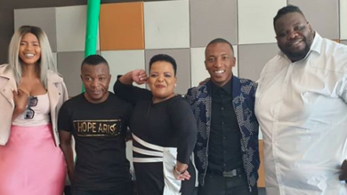 "Photo of Watch! Dr Rebecca Malope & Dumi's Studio Session For Her Newly Released Album ""Lord You Are Good"""