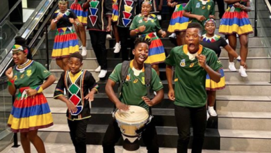 Photo of Ndlovu Youth Choir Gave An Electric Welcome To Our Springboks Champions