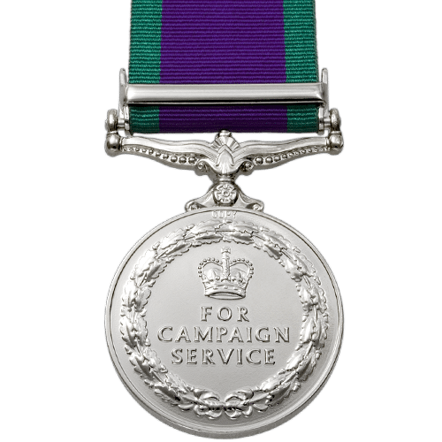 General Service Medal 1962-2007 GSM-CSM