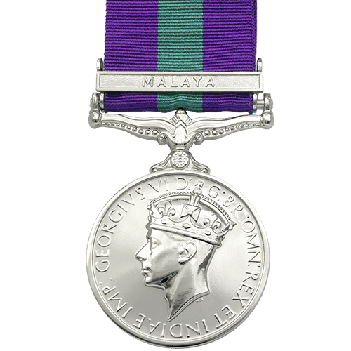 General Service Medal GSM 1918-1962 GVI