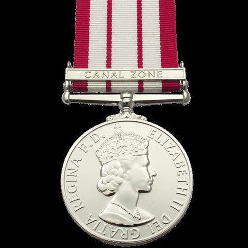 Naval General Service Medal NGSM 1915-1962 ER2