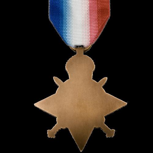 1914-15 Star World War 1 Medal Reverse