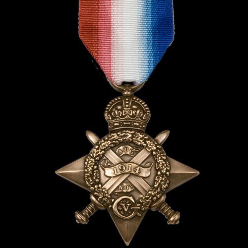1914 Star World War 1 Medal