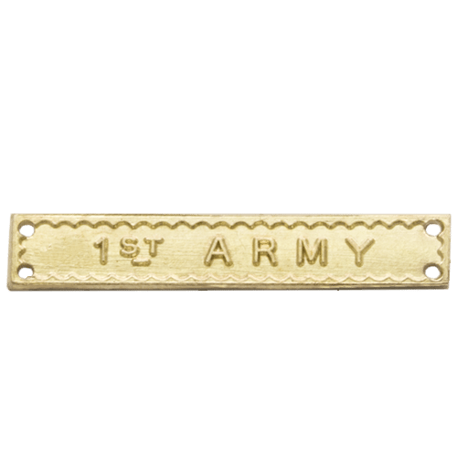 1st Army Clasp World War 2