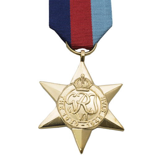 39-45 Star World War 2 Medal