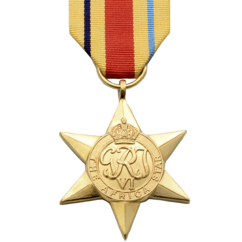 Afrika Stern Weltkrieg 2 Medaille