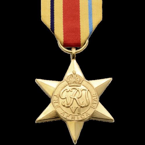 Africa Star World War 2 Medal