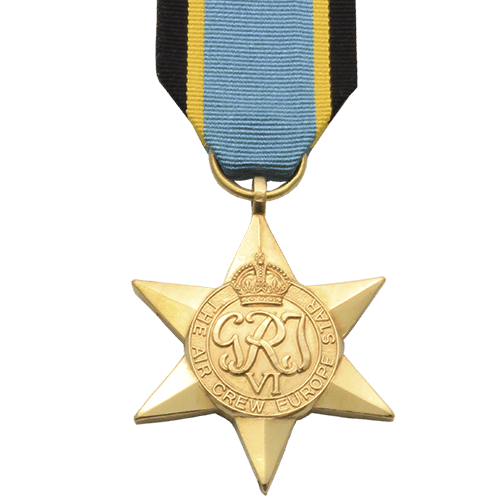 Air Crew Europe Star World War 2 Medal
