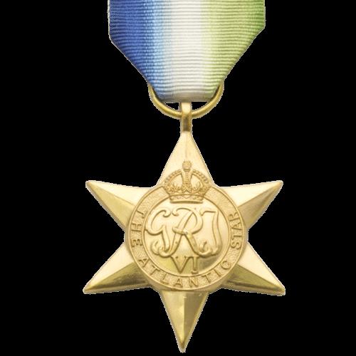 Atlantic Star World War 2 Medal