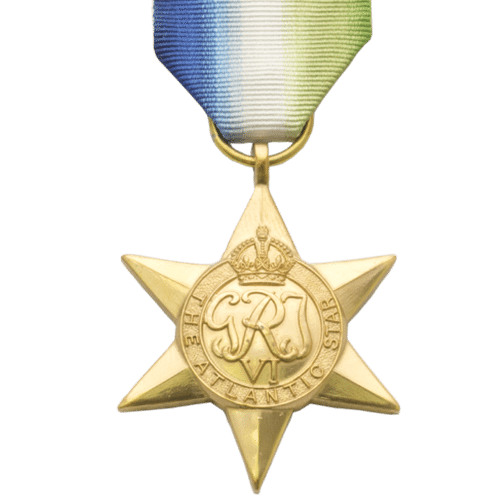 Atlantic Star World War 2 Medal