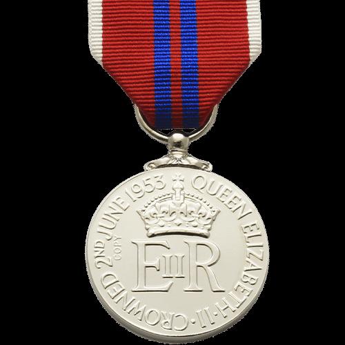 Coronation 1953 EIIR Reverse