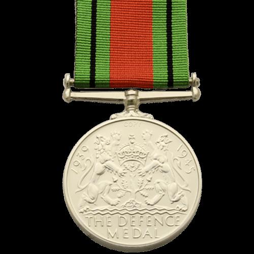 Defence Medal World War 2 Reverse