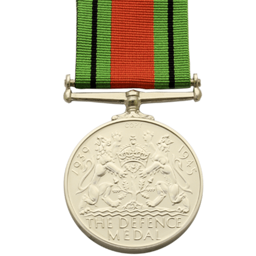 Defence Medal World War 2 Reverse