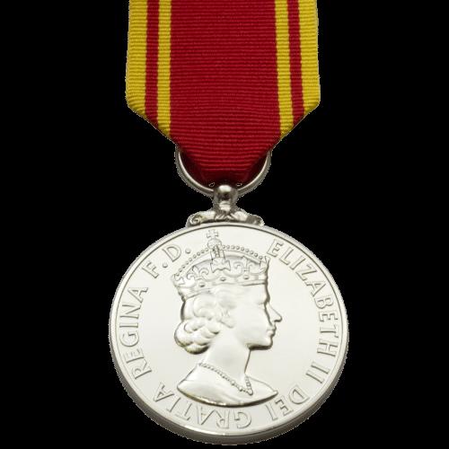 Fire Service LS&GC Medal ER2