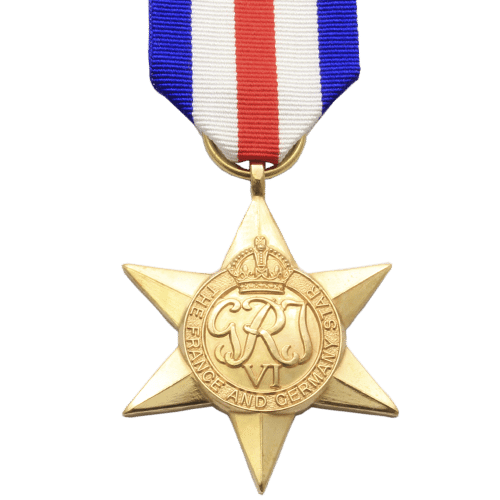 France And Germany Star World War 2 Medal